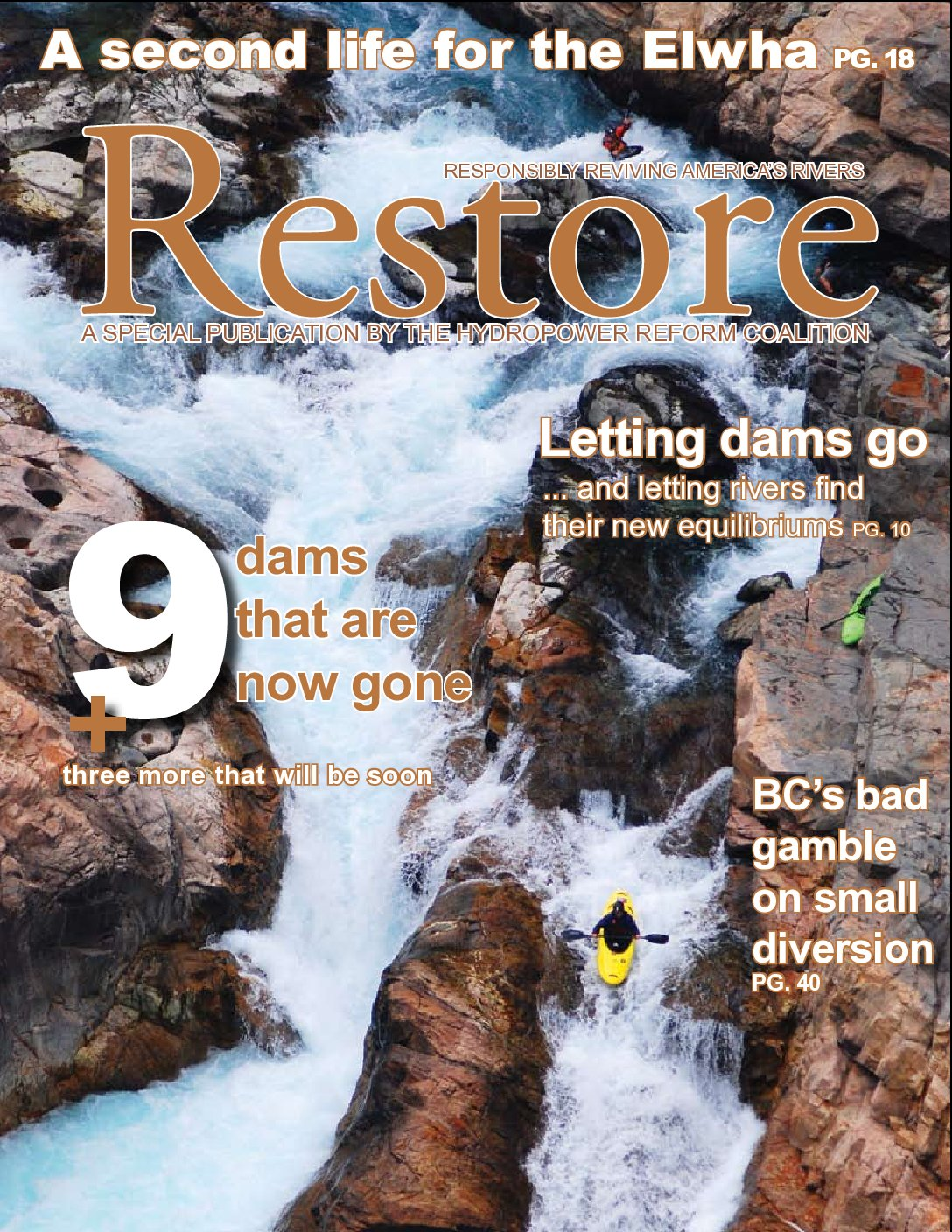 Restore: A Special Publication by the Hydropower Reform Coalition